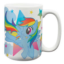 my little pony large coffee mugs for sale rainbow dash zak