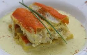 cuisiner le surimi cannelloni de surimi au poisson sauce curry recette dukan pp par