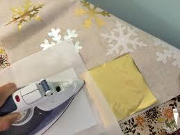 deco foil deco foil sizzix snowflake pillow
