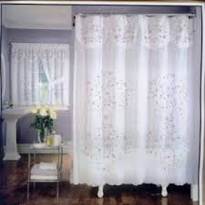 Flower Drop Shower Curtain Shower Curtains Window Treatments Foter