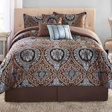 bedroom blue comforter sets king size bed sets linen bedding