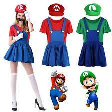 Mario Luigi Halloween Costume Women Mario Costume Ebay
