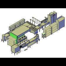 Commercial Kitchen Designers 3d Cad Drawing Of A Commercial Kitchen Design Cadblocksfree Cad