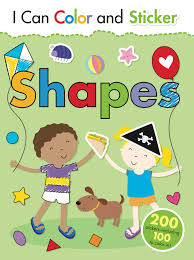 i can color and sticker shapes book by gemma cooper helen