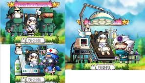 Maplestory Chairs All 3 Chairs Obtained From Madhouse Maplestory