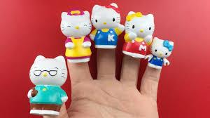 kitty finger family nursery rhymes song children