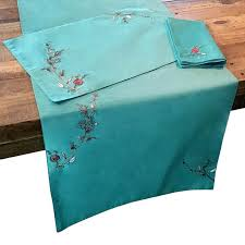 table linens everything turquoise