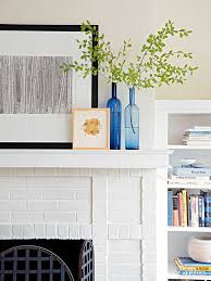 Brick Fireplace Paint Colors - how to paint a brick fireplace
