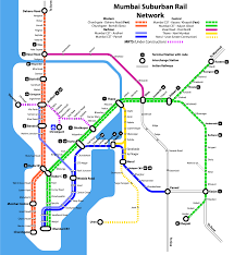 Mumbai India Map by Irfca Indian Railways Faq Mumbai Suburban Schematic Map