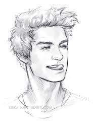 cara de perfil dibujos pinterest drawings sketches and