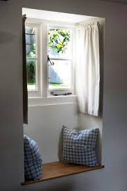 best 25 window seat curtains ideas on pinterest bay windows cottage window seat so cute love the dormer rod curtains