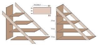 treppe bauen treppe selber bauen beton bücherregal www de 11 die besten 25