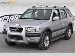opel frontera 2002 prodej opel frontera 2 2 dt limited 4x4 klima litá terenní vozidlo