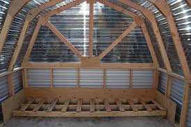 how to build a barn style roof ana white barn greenhouse diy projects