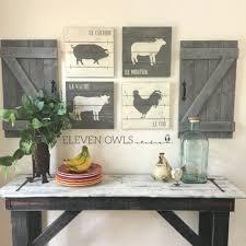 decorating ideas kitchen walls farmhouse kitchen wall decor ideas 24 spaces