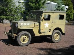 military jeep side view m 606 military cj 3b ewillys