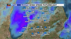 Sturgis Michigan Map by Mid Week Storm Not Much Snow For W Mi Woodtv Com