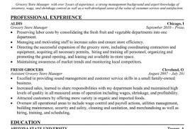 Store Manager Resume Sample by Grocery Store Manager Resume Sample Supermarket Store Manager