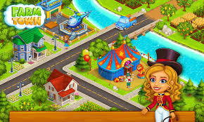 farm town happy farming day u0026 top farm game city android apps