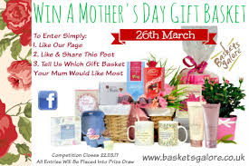Mother S Day Basket Basketsgalore U0027s Win A Mother U0027s Day Gift Basket Competition 2017