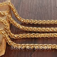 mens solid gold necklace images Byzantine necklace yellow gold filled mens chain necklace solid jpg