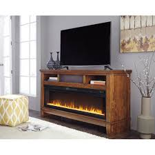 contemporary extra large tv stand w wide fireplace insert
