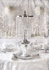 trend alert all white bridal showers winter theme hostess