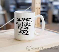 support wildlife raise boys coffee mug 15oz on storenvy