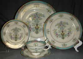china lenox lenox blue tree gold backst trim