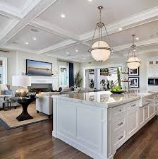 California Kitchen Design by Kitchen Family Room Combo Abode Dreams Pinterest Luxury
