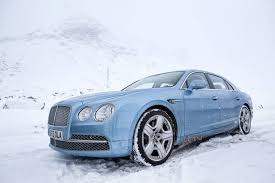 bentley blue photo of the day sky blue bentley continental flying spur in st