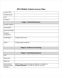 high lesson plan template lesson plan template on fd