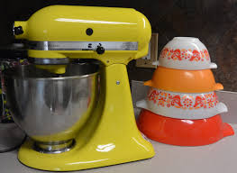product review pyrex vinyl decals for your kitchenaid mixer by