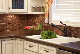 Copper Backsplash Tiles Large Size Of Interior Peel And Stick - Copper backsplash