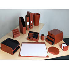 Office Desk Accessories Set Leather Office Desk Accessories Hungrylikekevin Com
