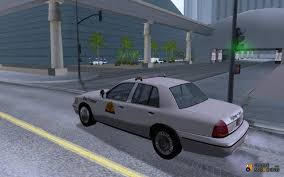 2003 ford crown victoria utah highway patrol for gta san andreas