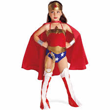 Holloween Costumes Justice League Dc Comics Wonder Woman Child Halloween Costume