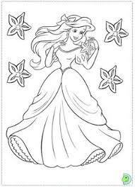 princess ariel mermaid coloring princess ariel