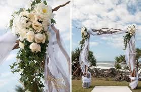wedding arches gold coast sugar and spice events gold coast wedding