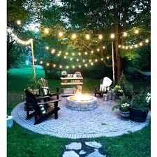 Outdoor Hanging Lights For Trees Outside Hanging Lights Globe String Lights Outdoor Bulb Exterior