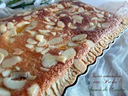 amandine cuisine tarte frangipane amandine aux peches amour de cuisine