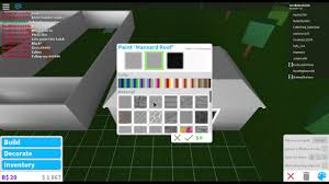 How To Get Floor Plans How To Get Free Paint In Welcome To Bloxburg Youtube
