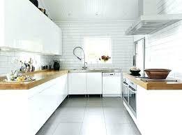 couleur cuisine blanche carrelage pour cuisine blanche cuisine blanche et bois idace dacco