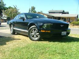 Black Mustang V6 Black 2005 V6 Mustang Coupe Pictures Black 2005 V6 Mustang Coupe