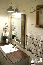 Wood Mirrors Bathroom Rustic Mirrors For Bathroom Best Rustic Bathroom Mirrors Ideas On