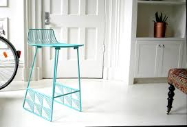 bar stools counter stools for kitchen island turquoise metal bar