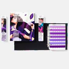 pantone solid color set of guides and chip books