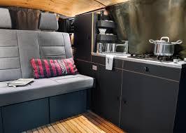 volkswagen van interior ideas nils holger moormann designs minimal interior for vw bus
