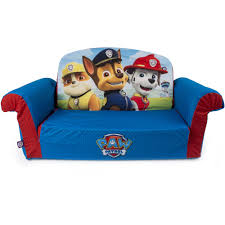 Kids Flip Out Sofa Bed With Sleeping Bag Marshmallow Furniture Children U0027s 2 In 1 Flip Open Foam Sofa