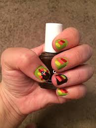 thanksgiving turkey nail art 11 great thanksgiving nail art ideas in pictures npm nail trends